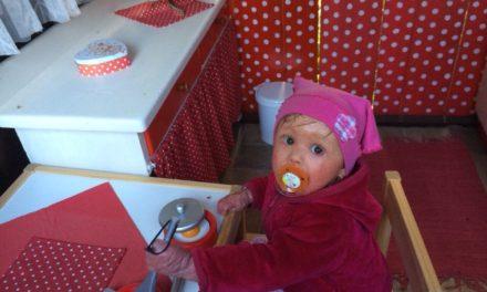 Amálka a péče ve dvou letech