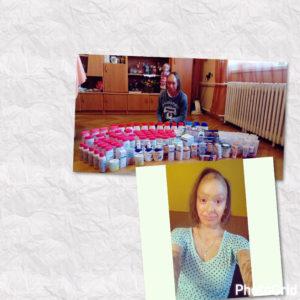Nikolka a její první balík s krémy