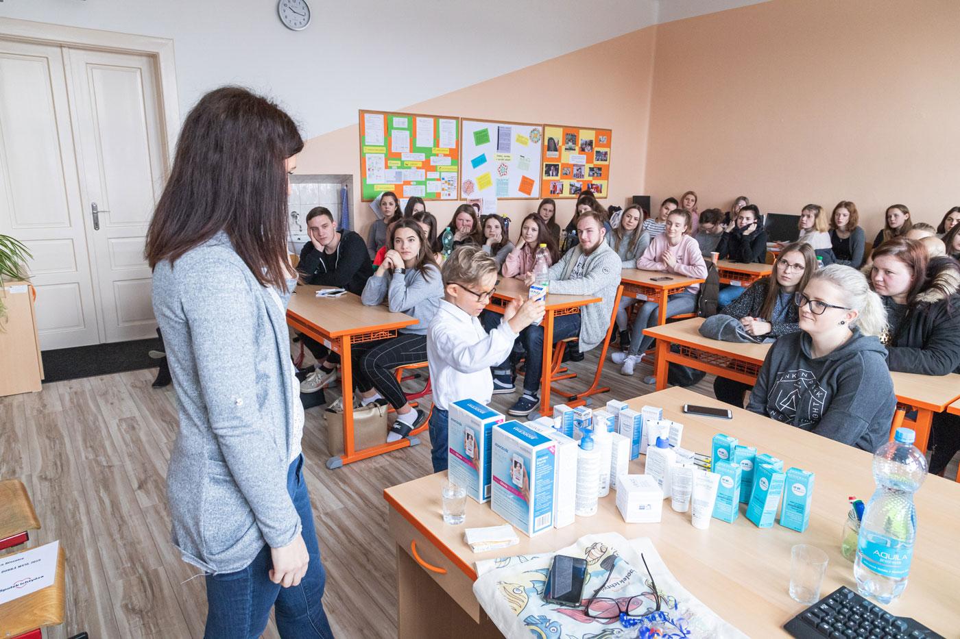 Beseda SOŠ a VOŠ Březnice – Únor 2020