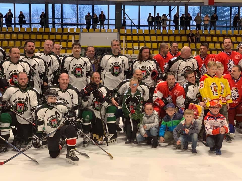 Hokejové utkání pro Spolek Ichtyóza – Duben 2019