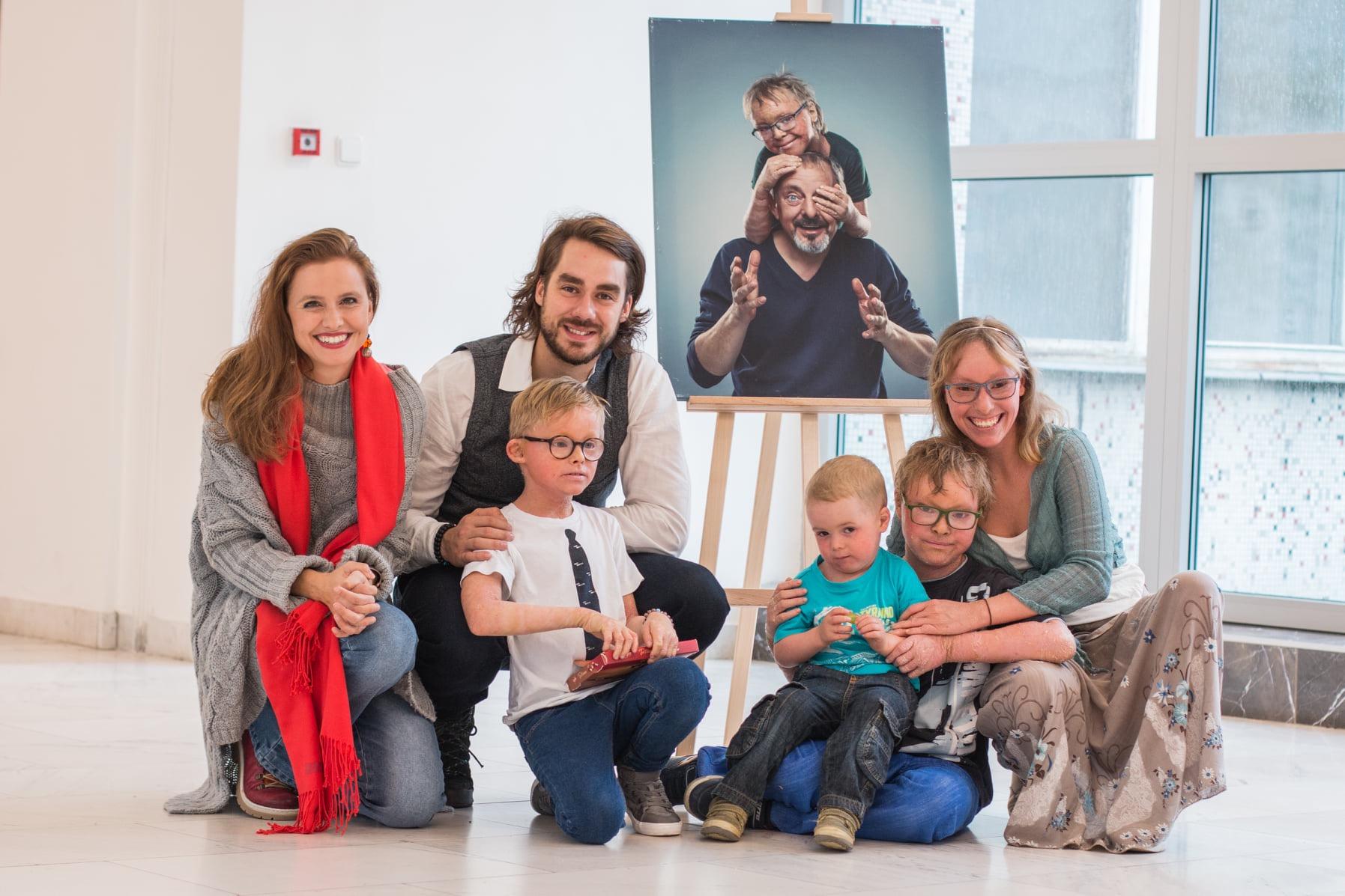 Výstava portrétů FN Motol – Říjen 2019