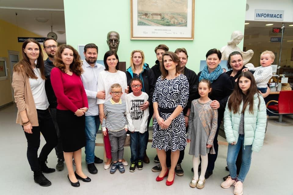 Výstava portrétů FN Brno – Duben 2019